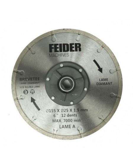FEIDER Lame TCT 125MM FDL125 DB