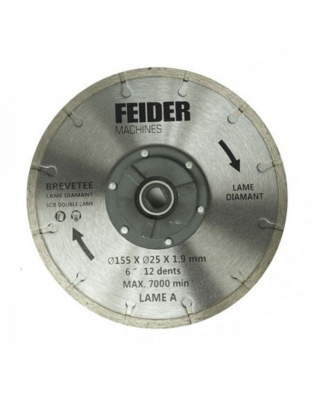 FEIDER Lame diamant 155MM FDL 155 DB