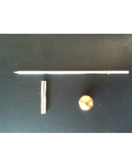 BUILDER Buse et Pointeau de 1mm pour pistolet métal