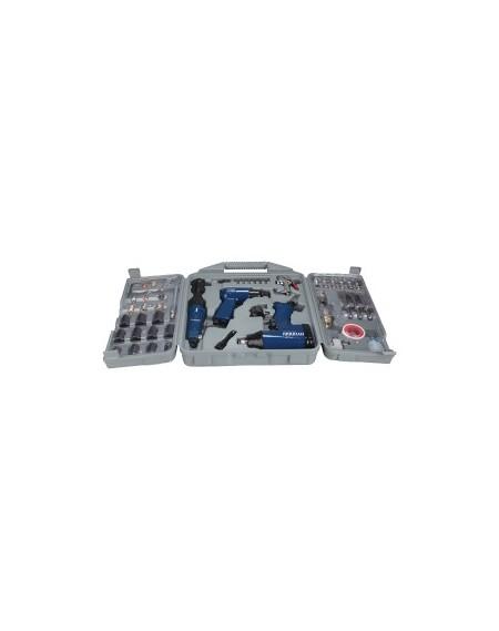 HYUNDAI Kit 3 outils à air comprimé 50 pièces HAC50PCS