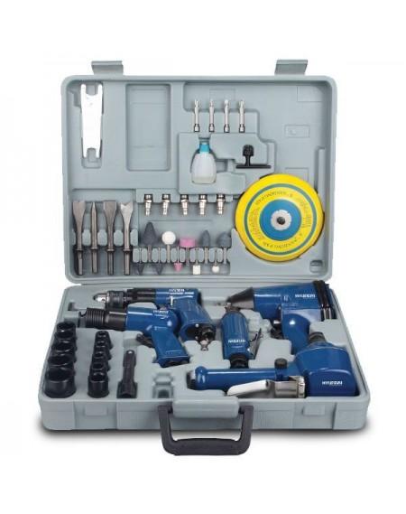 HYUNDAI Kit 48 outils à air comprimé - H48M