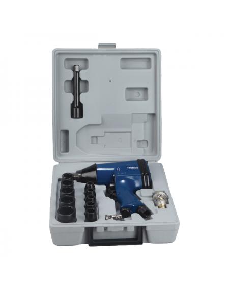 HYUNDAI Clé à choc pneumatique + coffret accessoires - HCAC
