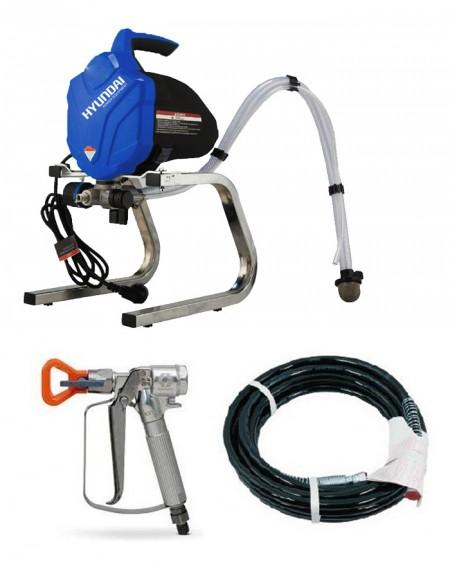 HYUNDAI pompe airless HSP200 avec pistolet, buse et tuyau