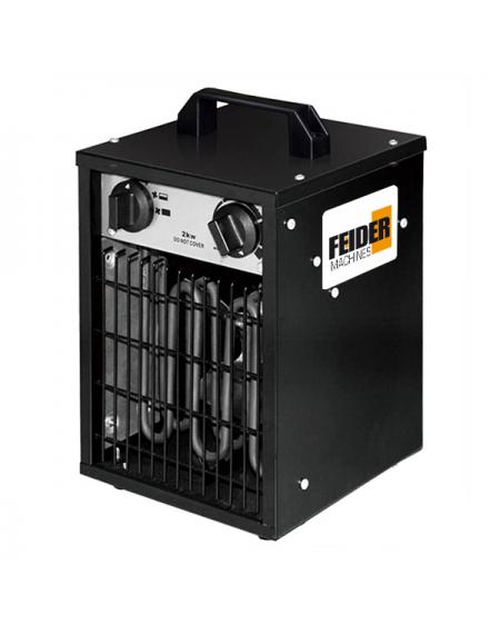 FEIDER Chauffage électrique 2000 W - FCE2000W