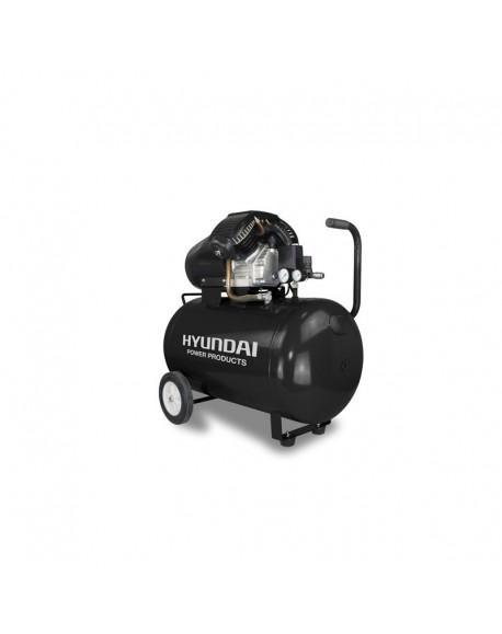 HYUNDAI Compresseur d'air 100 litres 3HP 9 bars - HC100L